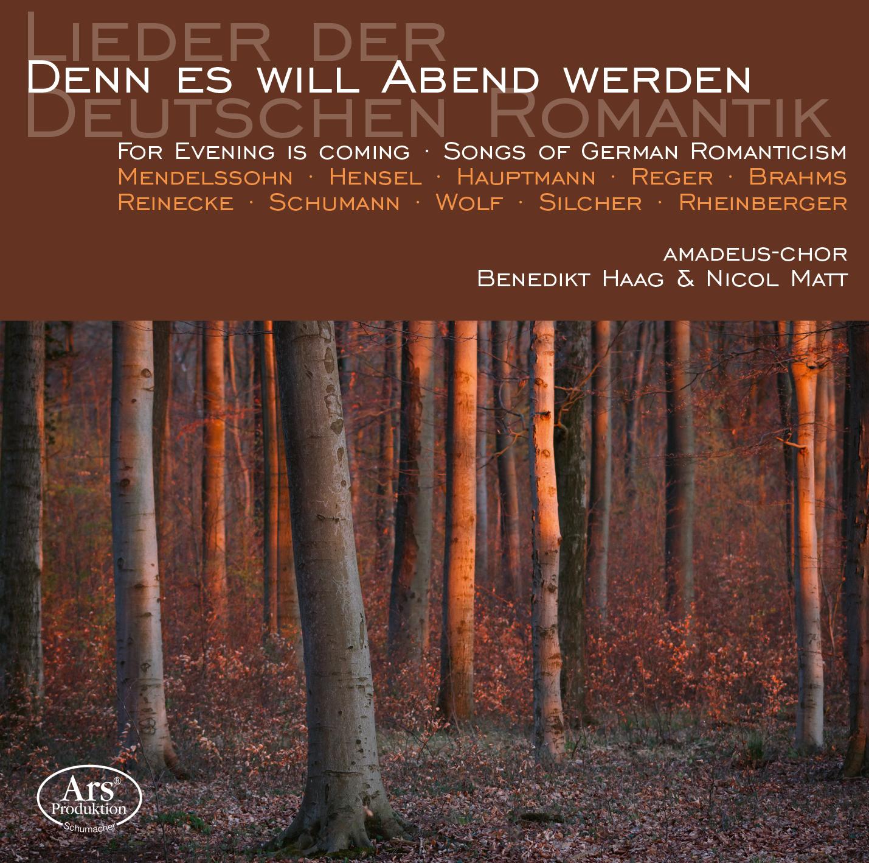 """CD-Cover """"Denn es will Abend werden"""""""
